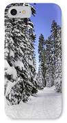 Trail Through Trees IPhone Case