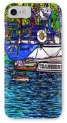 Transients Cartoon IPhone Case by Steve Harrington