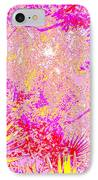 Treasure Shores Parking Lot Vision IPhone Case by Eikoni Images