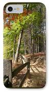 Tree Trail IPhone Case