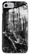 Trees At The Entrance To The Valley Of No Return IPhone Case by Simon Marsden