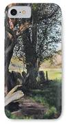 Trees Near Rhug. IPhone Case by Harry Robertson