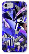 Triangulate IPhone Case by Ron Bissett