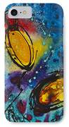 Tropical Flower Fish IPhone Case by Sharon Cummings