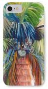 Tropical Palm Inn IPhone Case