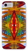 Tropical Stained Glass IPhone Case