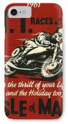 Tt Races 1961 IPhone Case by Georgia Fowler
