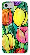 Tulip Expo IPhone Case by Jim Harris
