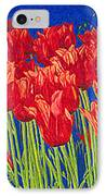 Tulips Tulip Flowers Fine Art Print Giclee High Quality Exceptional Color Garden Nature Botanical IPhone Case