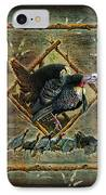 Turkey Lodge IPhone Case by JQ Licensing