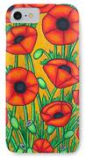 Tuscan Poppies IPhone Case by Lisa  Lorenz
