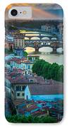 Tuscan Sunbeams IPhone Case by Inge Johnsson