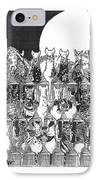 Two Dozen And One Cats IPhone Case