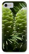 Two Pinecones IPhone Case