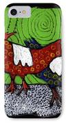 Two Roosters IPhone Case