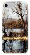 Two Souls Reflect IPhone Case by Janine Riley