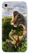 Ultrasaurus IPhone Case by Jerry LoFaro