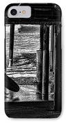 Under The Boardwalk IPhone Case by Tommy Anderson