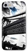 Under The Bridge IPhone Case by Christopher Leon