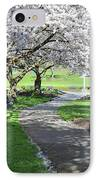 Under The Cherry Blossom Tree IPhone Case