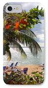 Under The Palms In Puerto Rico IPhone Case by Madeline Ellis