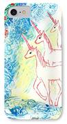 Unicorns Come Home IPhone Case