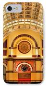 Union Station Balcony IPhone Case by Kristin Elmquist