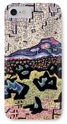 Unity Awareness In The Field Of Space And Time IPhone Case by Dale Beckman