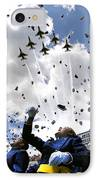 U.s. Air Force Academy Graduates Throw IPhone Case by Stocktrek Images