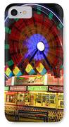 Vacant Carnival Bench IPhone Case by James BO  Insogna
