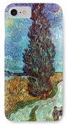 Van Gogh: Road, 1890 IPhone Case