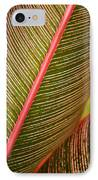 Variegated Ti-leaf 1 IPhone Case by Ron Dahlquist - Printscapes