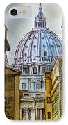 Vatican City IPhone Case by Irina Sztukowski