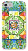 Vegetable Patchwork IPhone Case