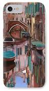 Venezia A Colori IPhone Case by Guido Borelli