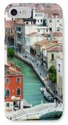 Venice City Of Canals IPhone Case by Julie Palencia