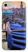 Venice Sunrise IPhone Case by Inge Johnsson