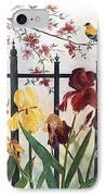 Victorian Garden IPhone Case by Ben Kiger