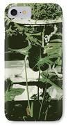 Victorian Garden Poster IPhone Case