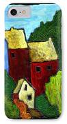 Village Scene IPhone Case