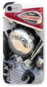 Vintage Harley V Twin IPhone Case
