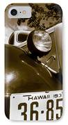 1937 Ford Pickup Truck Maui Hawaii IPhone Case