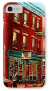 Vintage Montreal IPhone Case