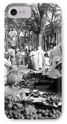 Vintage Street Scene In Ponce - Puerto Rico - C 1899 IPhone Case