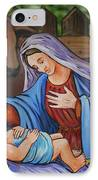 Virgin Mary And Baby Jesus IPhone Case