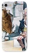 W. Mckinley Cartoon, 1896 IPhone Case by Granger