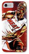 Wade Passes IPhone Case by Maria Arango