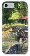 Wagon Shed IPhone Case by Suzanne Gaff