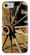 Wagon Wheel IPhone Case by Perry Webster