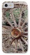 Wagon Wheel IPhone Case by Robert Frederick